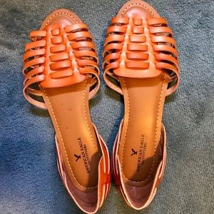 Brand New Brown American Eagle Sandal Sz 11